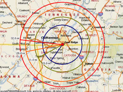 Easy moving labor map for chattanooga moving labor chattanooga tn moving labor and moving help map sciox Gallery