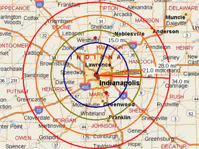 Map Of Indianapolis Zip Codes  Zip Code Map